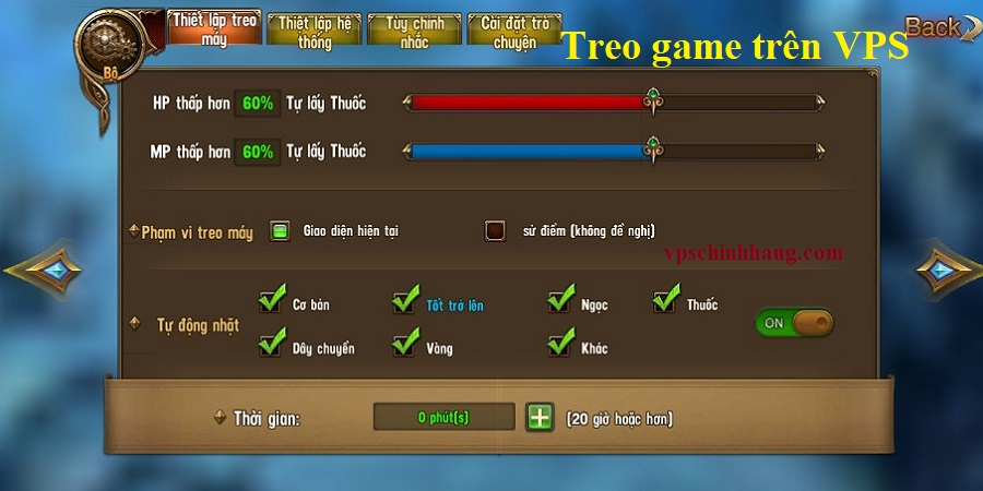 VPS treo game
