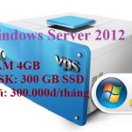 VPS windows SSD dung lượng lớn