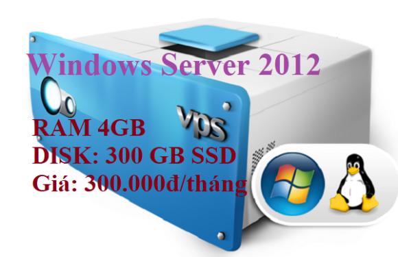 VPS SSD giá rẻ Chỉ 300 nghìn đồng có 300GB dung lượng SSD