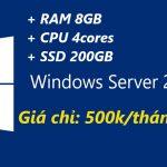 VPS windows cấu hình cao giá rẻ