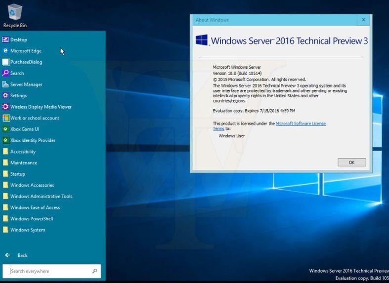 VPS windows server 2016