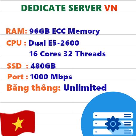 Dedicated Server VN RAM 96