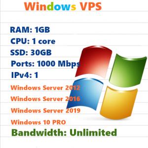 VPS VN RAM 1 CPU 1