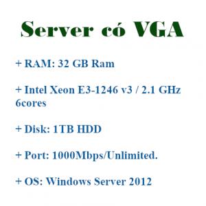 VPS có VGA chạy Bluestacks và treo game đồ họa