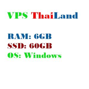 VPS Thai Lan RAM 6G