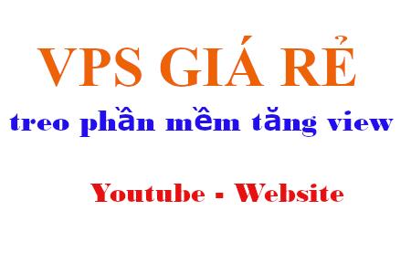 Các gói VPS rẻ treo Traffic4Seo, cài phần mềm tăng view Website