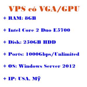 VPS có VPGA server USA
