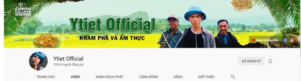 Kênh chính thức của Youtuber chăn bò Việt Nam