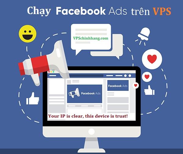Chạy ads trên VPS