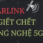 StarLink liệu có thay thế được mạng 5G