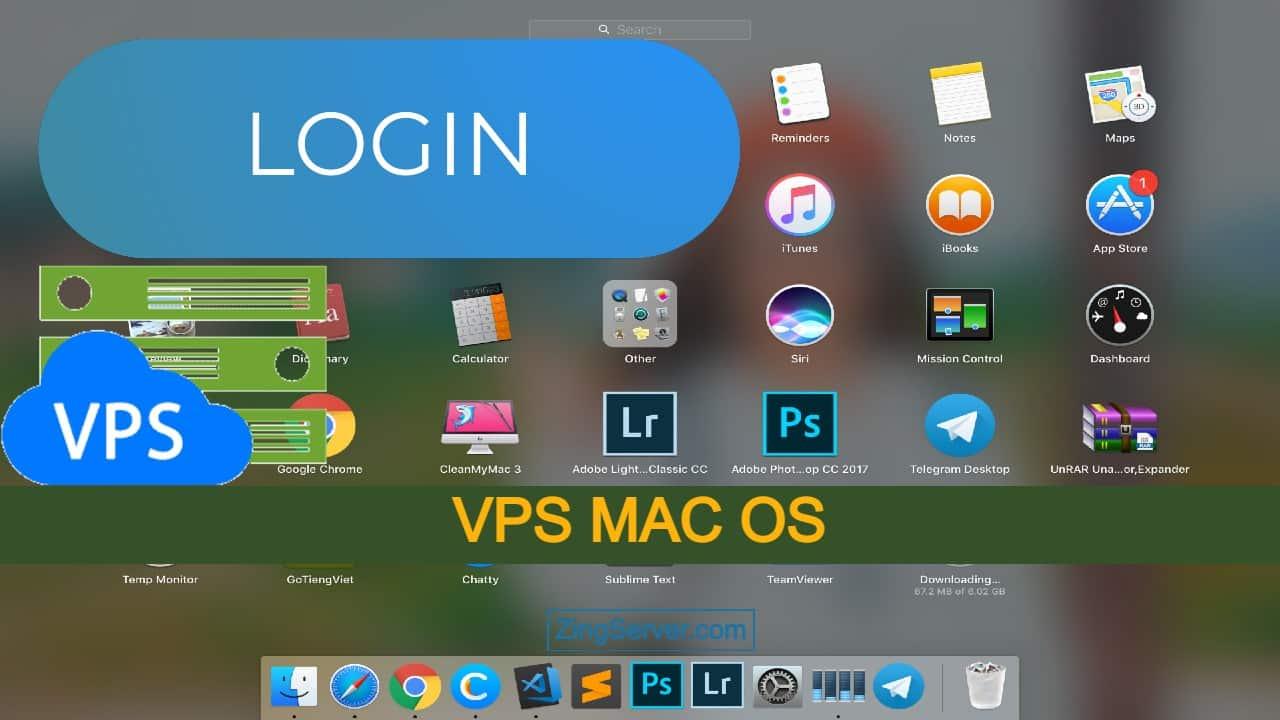 Đăng nhập VPS MAC OS