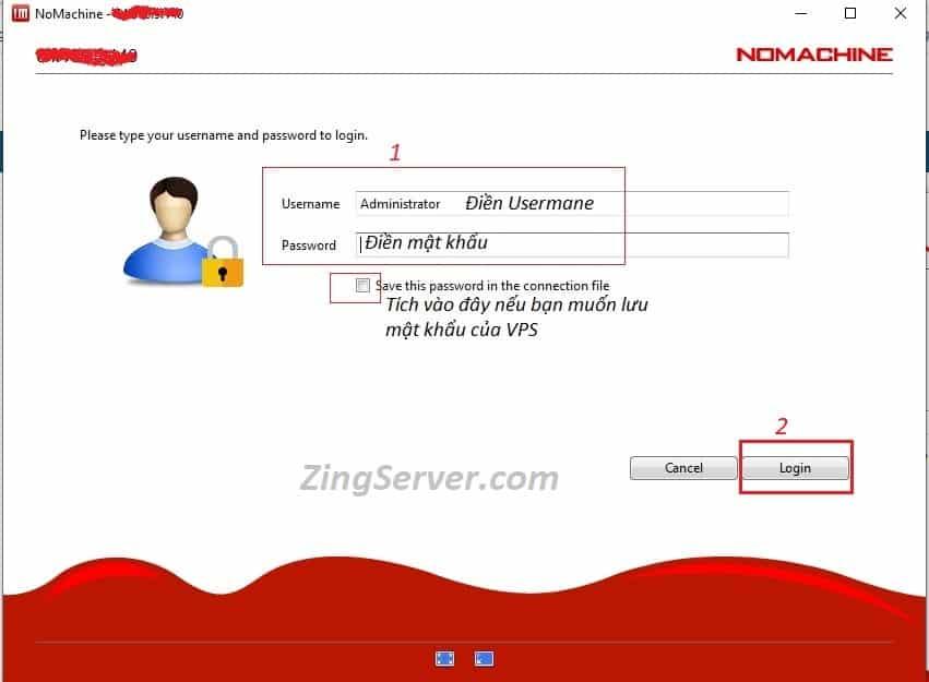 đăng nhập VPS MAC